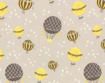 SALE! Hot Air Balloons Grey Tan ... Kate and Birdie ... Storybook..choose your cut