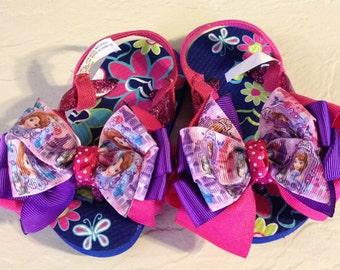 Sophia Boutique Flip Flops Baby/Toddler Size 4-5