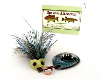 Fishing Lure Charm Pendant/The Zen Attractor