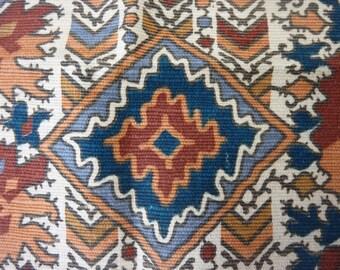 Divine Morceau of Antique French Fabric / 1800s / Scheurer -Rott / Sample / Patchwork / Document / Archive