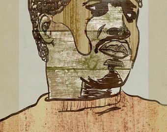 Otis Redding Poster - Limited Edition of 100