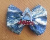 Jaws horror movie hair bow