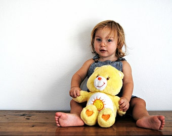 Plush Sunshine Bear Baby