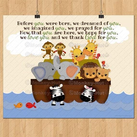 Ss Noah S Ark Baby Quote Print S S Noah Boy Boys