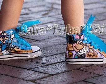 Let me paint your canvas shoes -  Boutique custom Personalized