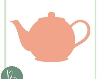 Tea Pot SVG File