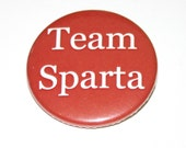 Team Sparta - Ancient Greece Badge - Red Badge