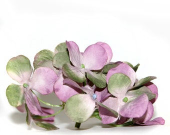 1 Lilac Sage Small Hydrangea Bunch - Artificial Flowers, Blossoms, Silk Flowers PRE-ORDER
