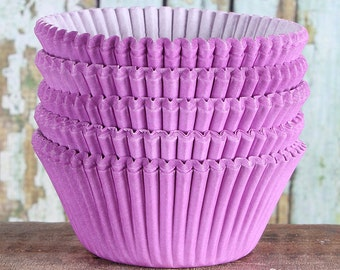 Light Purple Cupcake Liners, Lavender Cupcake Liners, Purple Baking Cups, Purple Cupcake Wrappers, Lilac Cupcake Liners, Cupcake Cases (50)
