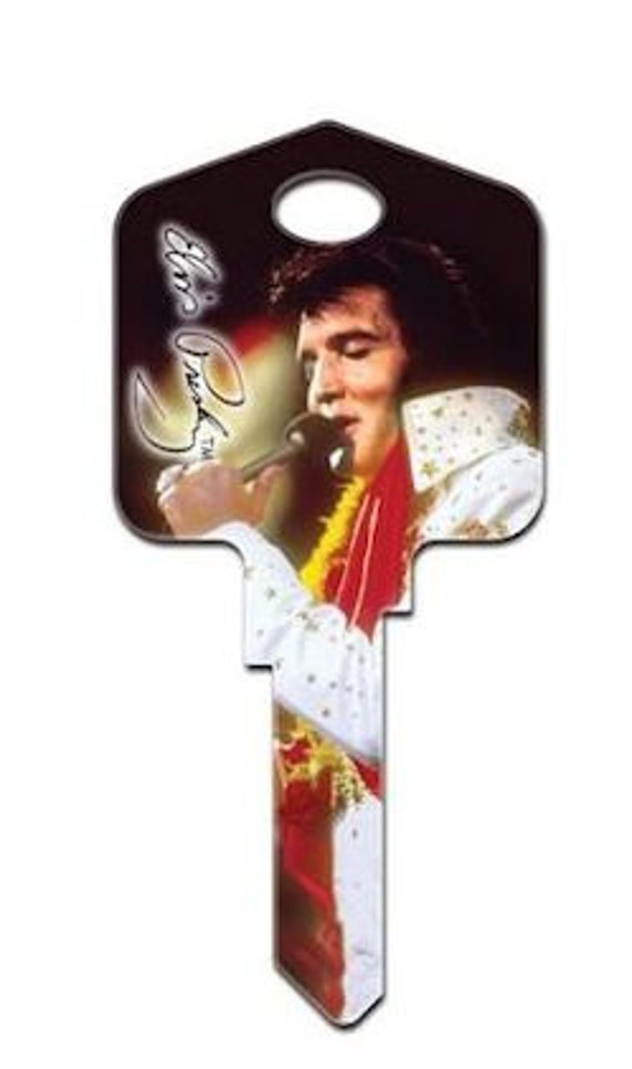 Items Similar To Elvis Presley Key Blank Vintage Celebrity