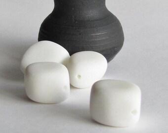 White Diamond Quartzite Beads - Destash Beads
