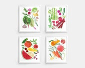 Seasonal Harvest Prints - Set of 4 (8 x 10)