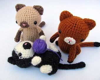 Mountain Lion Amigurumi : PATTERN: Red Fox - Amigurumi fox pattern - Crochet ...