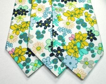 Mint Neckties Floral Mint Neckties Floral Neckties Green Neckties Mint Wedding Neckties Wedding Neckties, Custom Neckties