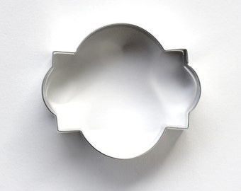 Photo Frame Cookie Cutter, Photo Plaque Cookie Cutter, Metal Cookie Cutter