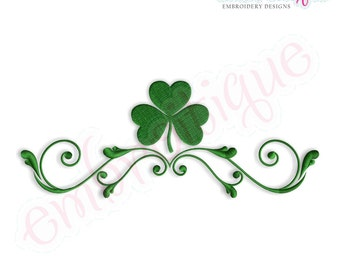 Irish Frame 2 Flourish Design - Small- -Instant Download Digital Files for Machine Embroidery