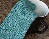 KNITTING PATTERN-Perfectly Pleated, Dishcloth Pattern