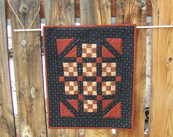 Nine Patch Wall Hanging or Table Topper