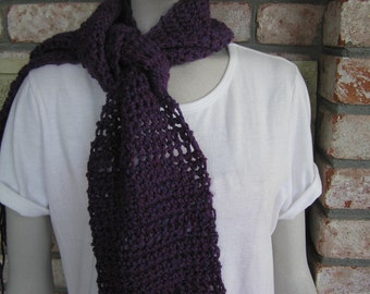 Berry Heather Long Scarf