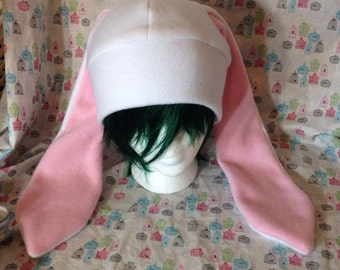 Fleece Bunny Hat - Pick Your Color!