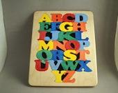 Children's alphabet puzzle