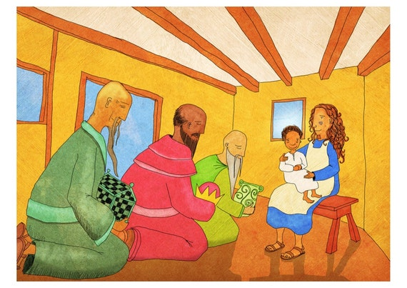 The Jesus Storybook Bible - Signed Print (Page 198 - 199)
