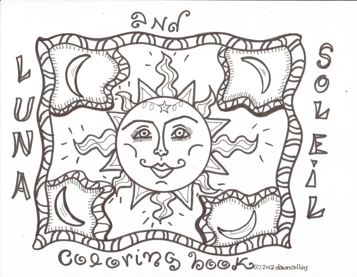 hippie coloring pages - photo#30