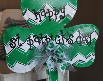 Small St Patrick's Day Shamrock door/wall decoration
