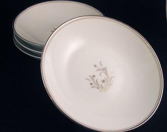 Noritake Ardis Fruit/Dessert Bowls(4) Circa 1956
