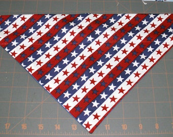 Dog Bandana, Independence, July 4, Patriotic, neckerchief, scarf