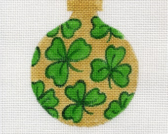 Shamrock with Gold Background - B31C - Jody Designs