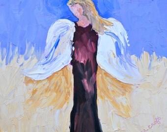 Print of Original Art Angel Fine Art by Rebecca Croft Studios - Many Sizes