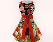 Frida and Catrinas Day of the Dead Apron