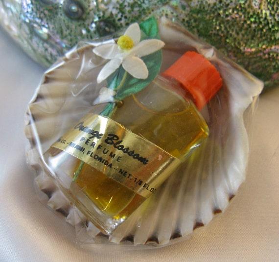 Fragrance Orange Blossom Perfume: Vintage 60s Orange Blossom Miniature Perfume By Threemartinilunch