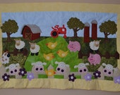 On the Farm Baby Quilt