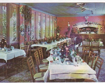 Hoffman House Restaurant Madison Wisconsin postcard