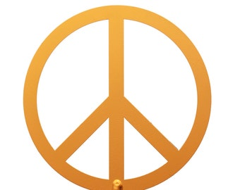 Hand Made Peace Sign Yard Art *NEW*