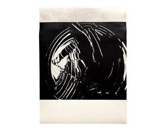 "Aldo Tambellini ""Black Zero"" poster, c.1970. Graphic design education by Reinhold Visuals"