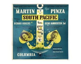 "Alex Steinweiss record album design, 1949. Rodgers and Hammerstein ""South Pacific"" LP"