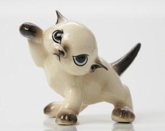 Khitti Kat Hagen Renaker Siamese Cat Figurine DESIGNERS WORKSHOP