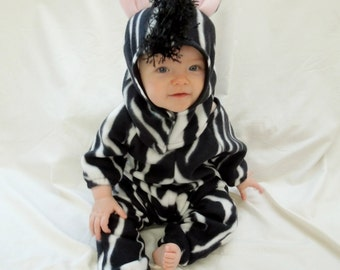 Zebra Infant Costume