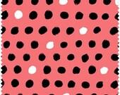 Windham Fabric's 8 Days a Week Dots (Watermelon) 37464-4 1 yard