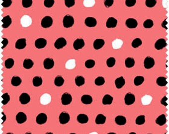 Windham Fabric's 8 Days a Week Dots (Watermelon) 37464-4 1 yard