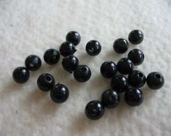 Black Eye Beads - #502