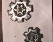 Rotating Gear Duo-Rainy Day Buttons