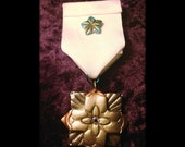 Fraternitaem Quattuor Ventis - Steampunk Medal