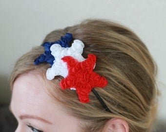 Star Headband, 4th of July Headband for Women