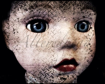 Neglected Doll Another  5x7 Original Yet  Altered Doll Photo Print By AlteredHead On Etsy