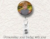 Personalized Retractable Clear Badge Reel, Photo Badge,  Buy 3 Get 1 Free Of Equal Or Lesser Value 001PBR