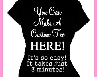 T shirts custom – Etsy